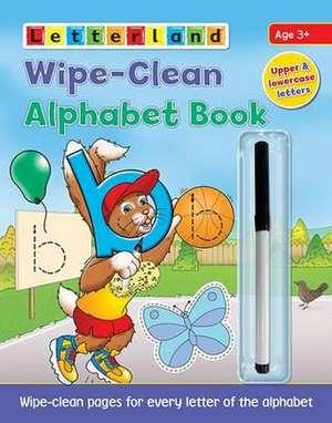 Wipe-Clean Alphabet Book imagine