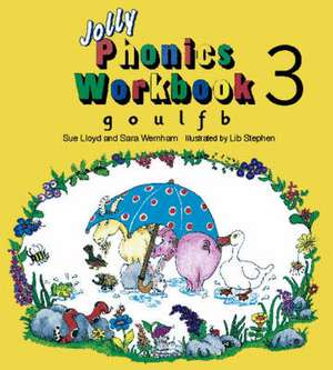Jolly Phonics Workbook 3 imagine