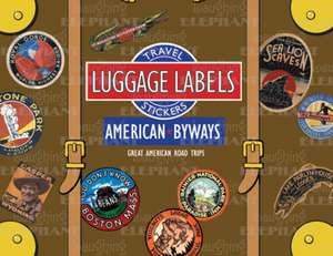 American Byways Luggage Labels de Laughing Elephant
