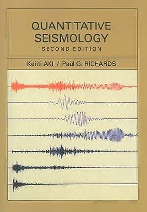 Quantitative Seismology imagine