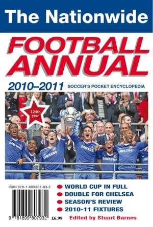 2010-2011 Nationwide Football Annual de Stuart Barnes