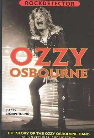 Rockdetector: Ozzy Osbourne de Gary Sharpe-Young