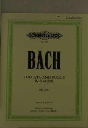 Toccata und Fuge d-Moll BWV 565 de Johann Sebastian Bach