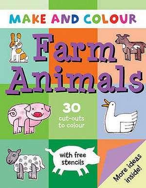 Make and Colour Farm Animals