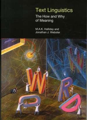 Text Linguistics de Jonathan Webster