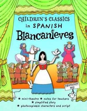 Children's Classics in Spanish:  Blancanieves de Diego Blasco Vasques