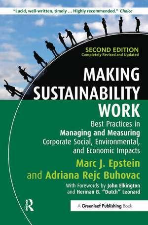 Epstein, M: Making Sustainability Work imagine