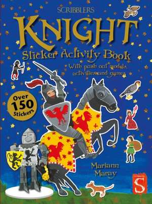 Knight Sticker Activity Book