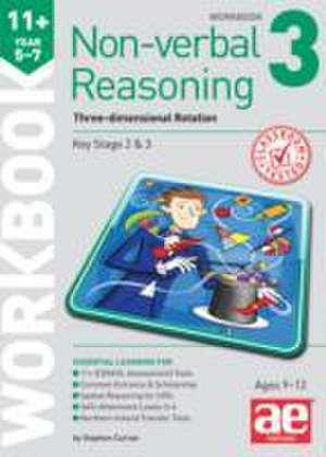 11+ Non-Verbal Reasoning Year 5-7 Workbook 3