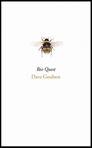 Bee Quest de Dave Goulson