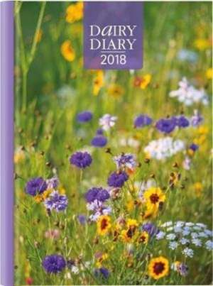 Dairy Diary 2018: A5 Week-to-View Diary with Recipes, Pocket and Stickers