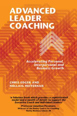 Advanced Leader Coaching de Chris Edger