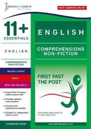 11+ Essentials English Comprehensions: Non Fiction Book 1