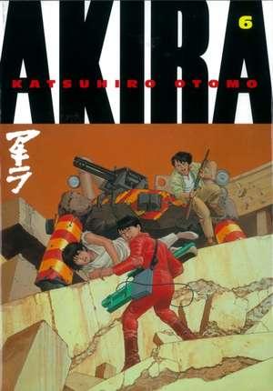 Akira Volume 6 de Katsuhiro Otomo
