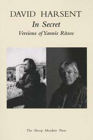 In Secret:  Versions of Yannis Ritsos de Yannis Ritsos