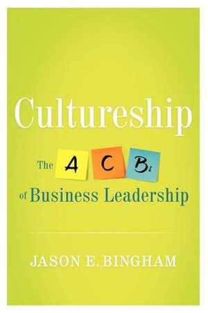 Cultureship de Jason Bingham