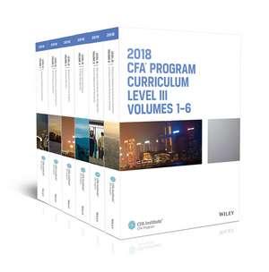 CFA Program Curriculum 2018 Level III