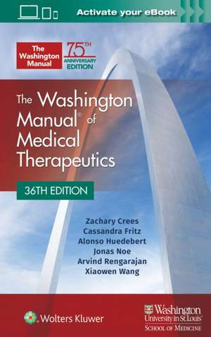 The Washington Manual of Medical Therapeutics Paperback imagine