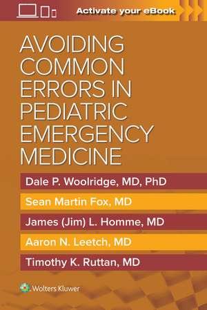 Avoiding Common Errors in Pediatric Emergency Medicine imagine