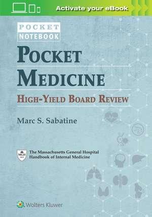 Pocket Medicine High-Yield Board Review imagine