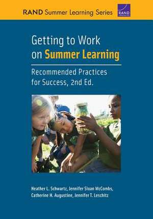 GETTING TO WORK ON SUMMER LEARPB de Jennifer T Leschitz