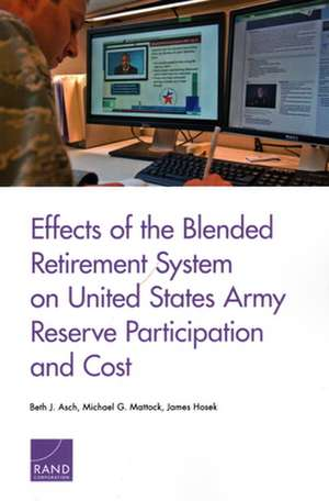 EFFECTS OF THE BLENDED RETIREMPB de James Hosek