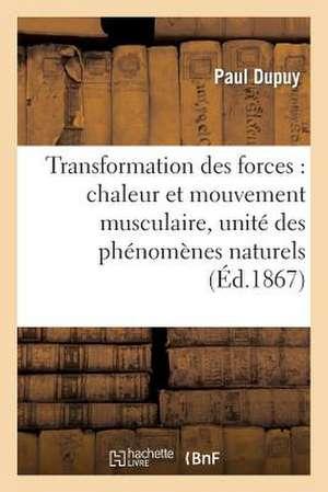 Transformation Des Forces