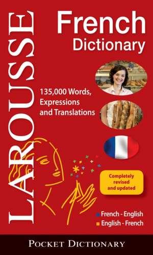 Larousse Pocket French-English/English-French Dictionary de Larousse