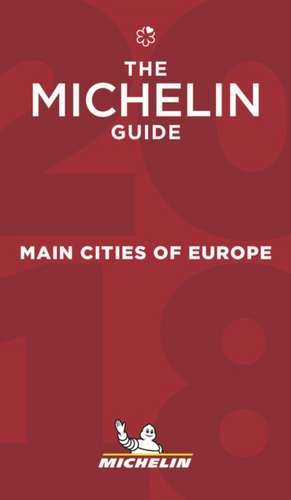 Michelin Main Cities of Europe 2018
