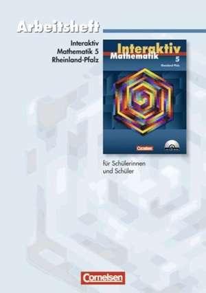 Mathematik interaktiv 5. Schuljahr. Arbeitsheft. Ausgabe Rheinland-Pfalz de Wibke Kiesel