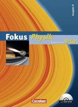 Fokus Physik 9/10 - Ausgabe N - Schuelerbuch mit CD-ROM. Gymnasium