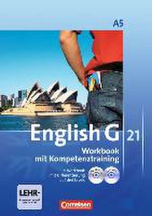 English G 21. Ausgabe A 5. Workbook mit e-Workbook und Audios online