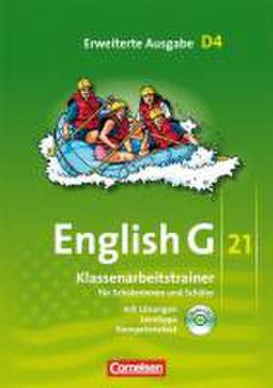 English G 21. Erweiterte Ausgabe D 4. Klassenarbeitstrainer mit Loesungen und CD