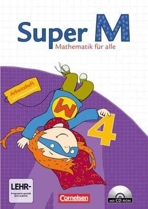 Super M 4. Schuljahr. Arbeitsheft. Westliche Bundeslaender