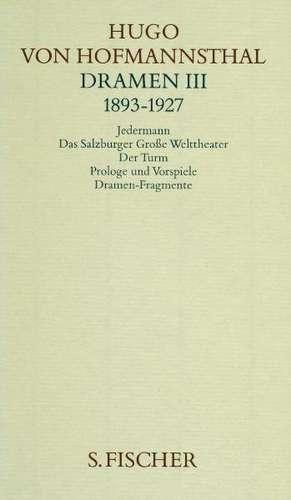 Dramen 3 (1893 - 1927)