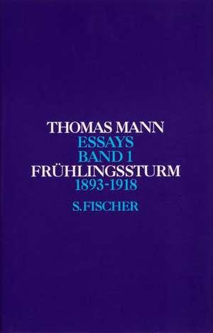 Fruehlingssturm 1893 - 1918