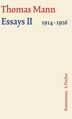 Essays 02. Grosse kommentierte Frankfurter Ausgabe. Kommentarband
