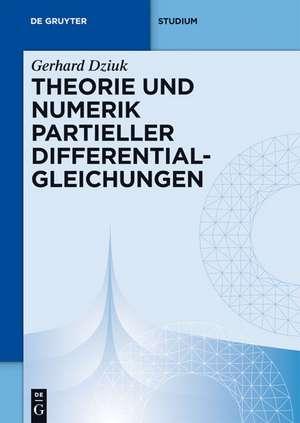 Theorie und Numerik partieller Differentialgleichungen de Gerhard Dziuk