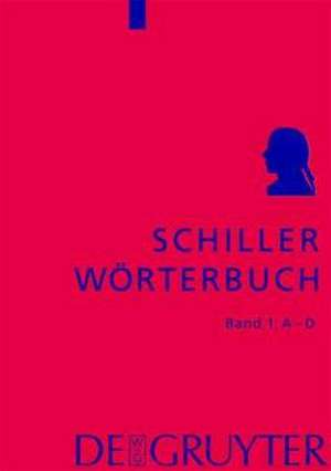 Schiller-Woerterbuch. 5 Baende
