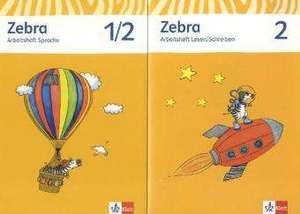 Zebra. Neubearbeitung. Schuelerpaket (Arbeitsheft Sprache, Arbeitsheft Lesen und Schreiben 2. Schuljahr)