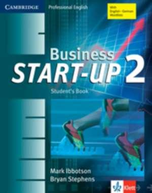 Business Start-Up 2 Student's Book Klett Edition imagine