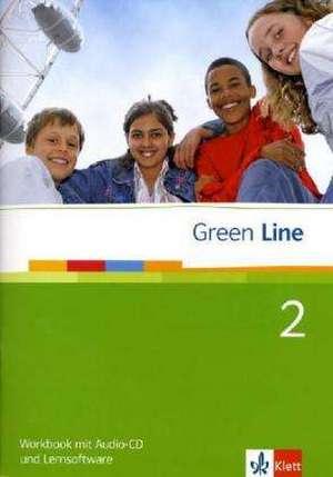 Green Line 2. Workbook mit Audio CD und CD-ROM
