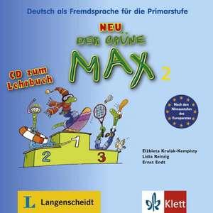 Der gruene Max 2/ Audio-CD zum Lehrbuch 2
