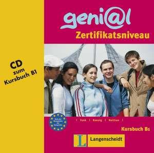 geni@l B1 - Audio-CD zum Kursbuch B1