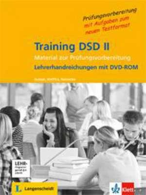 Training DSD II / Lehrerhandreichungen mit Audio-CD, Modelltest und DVD zur muendlichen Pruefung.