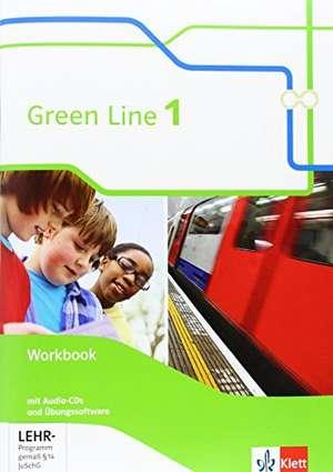 Green Line 1. Workbook mit Audio CD und UEbungssoftware. Neue Ausgabe