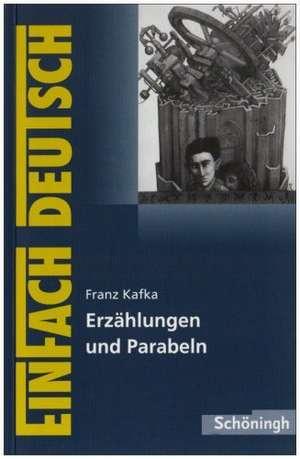 Erzaehlungen und Parabeln. EinFach Deutsch Textausgaben