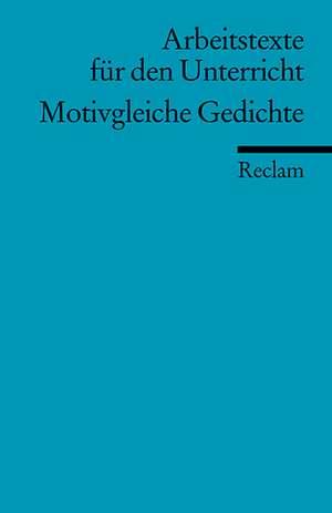 Motivgleiche Gedichte de Andreas Siekmann