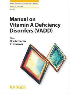 Manual on Vitamin a Deficiency Disorders (Vadd)