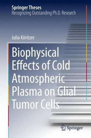 Biophysical Effects of Cold Atmospheric Plasma on Glial Tumor Cells de Julia Köritzer